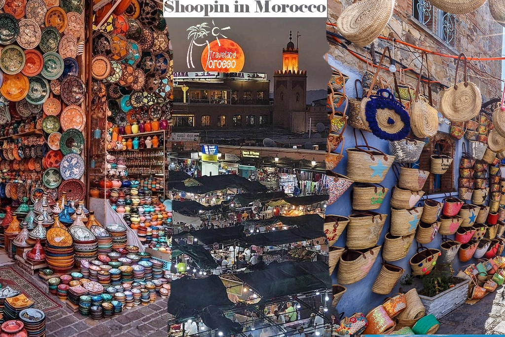 Shooping in Morocco