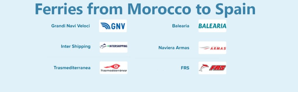 Ferries from Morocco to Spain