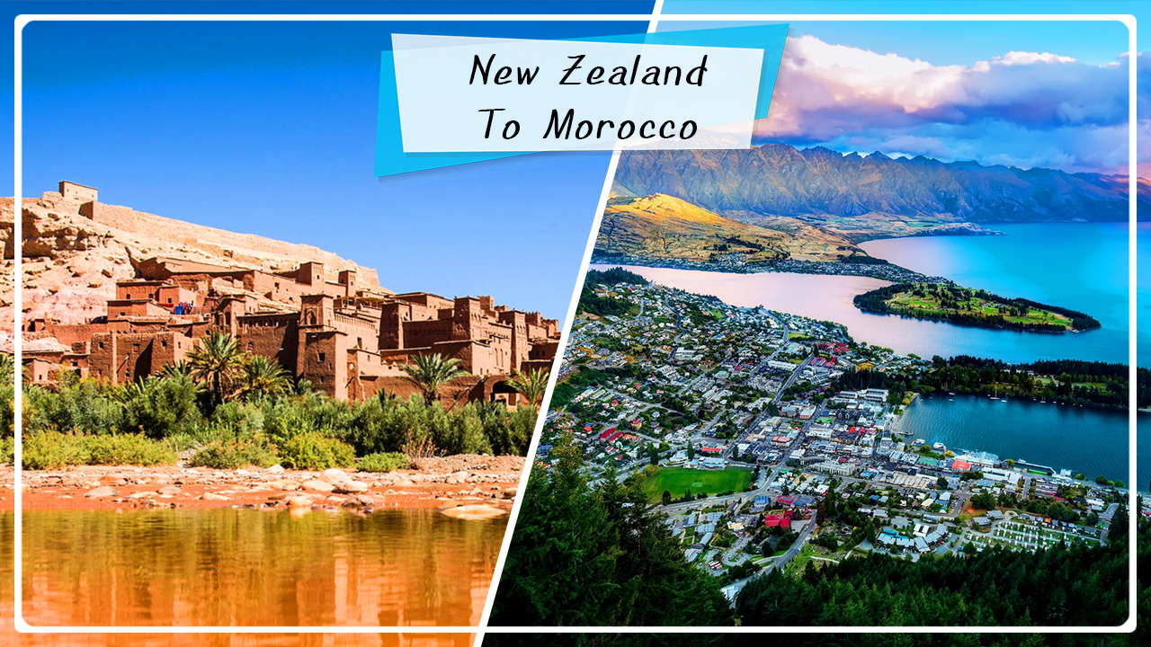 Travel to Morocco from New Zealand! The full guide
